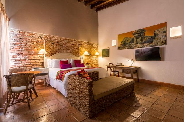 Rondreis Colombia hotel Bantu Cartagena junior suite