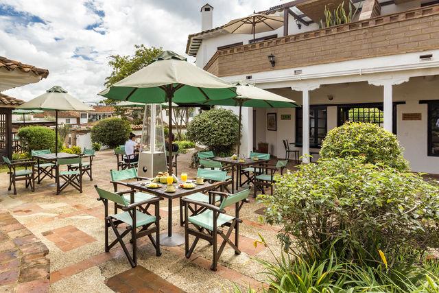Rondreis Colombia Ricaurte Villa de Leyva Getsemani terras van het hotel