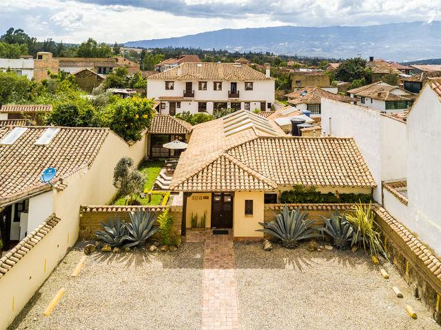 Rondreis Colombia Ricaurte Villa de Leyva Getsemani de buitenkant van de sparuimte