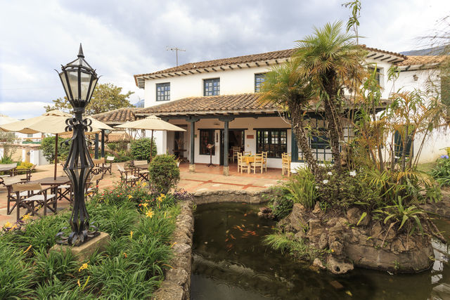Rondreis Colombia Ricaurte Villa de Leyva Getsemani buitenaanzicht