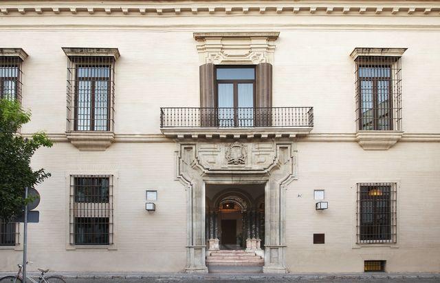 Palacio de Villapanes Sevilla gevel
