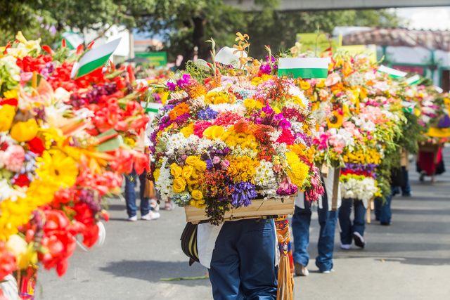 Rondreis Colombia Medellin Bloemencorso augustus