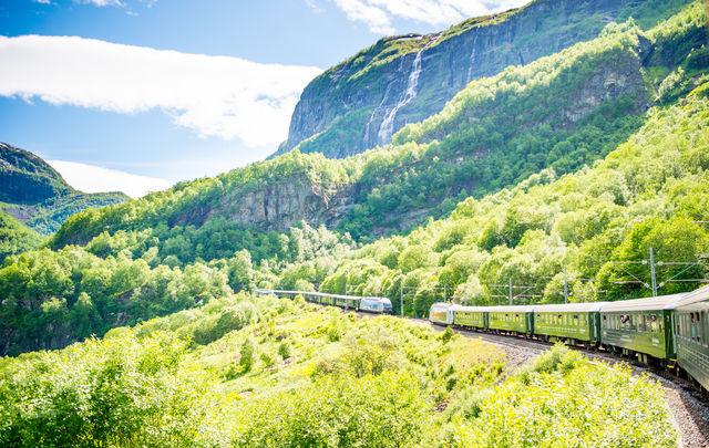 Flåmsbana Flåm Vestland Noorwegen