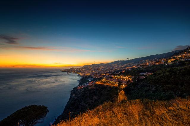 Portugal Madeira Funchal zonsondergang