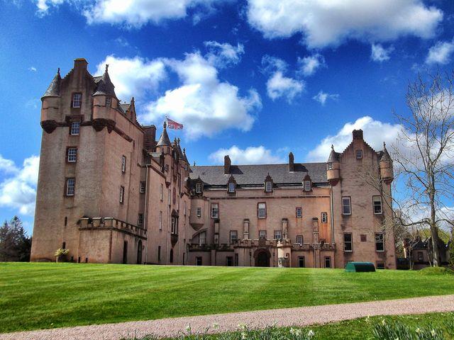 Kasteel Fyvie Castle Aberdeenshire Schotland