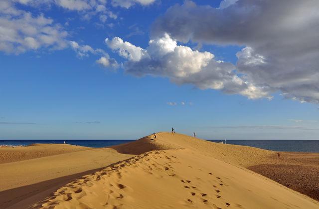 Zandduinen Canarische Eilanden La Palma