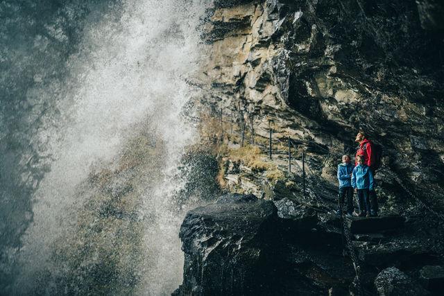 Waterval Geiranger Sunnmøre Noorwegen