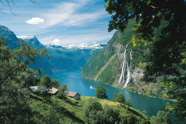 Geiranger Sunnmøre Noorwegen