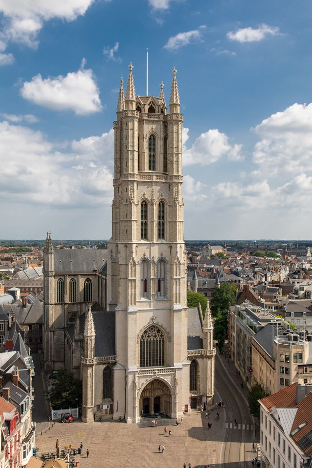 Sint Bavo kathedraal Gent Oost-Vlaanderen België