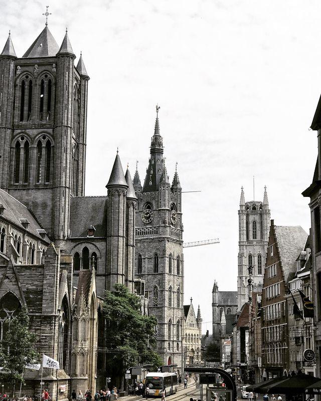 Sint Niklaaskerk Gent Oost-Vlaanderen België
