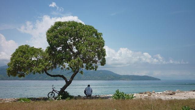 Gili Trawangan kust Bali Indonesië