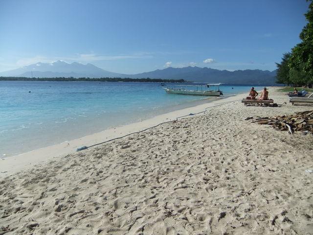 Gili Trawangan strand Bali Indonesië