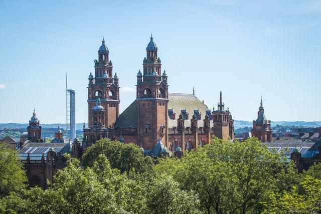 Kelvingrove Museum and Gallery Glasgow Schotland