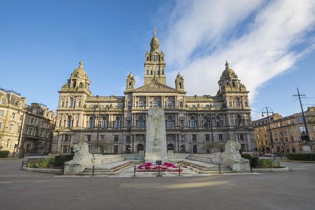 City Chambers Glasgow Schotland