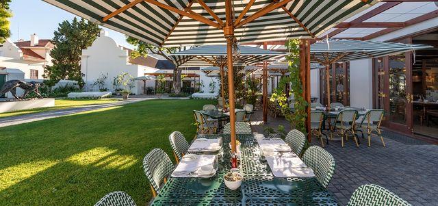 Rondreis Zuid-Afrika Graaff-Reinet restaurant