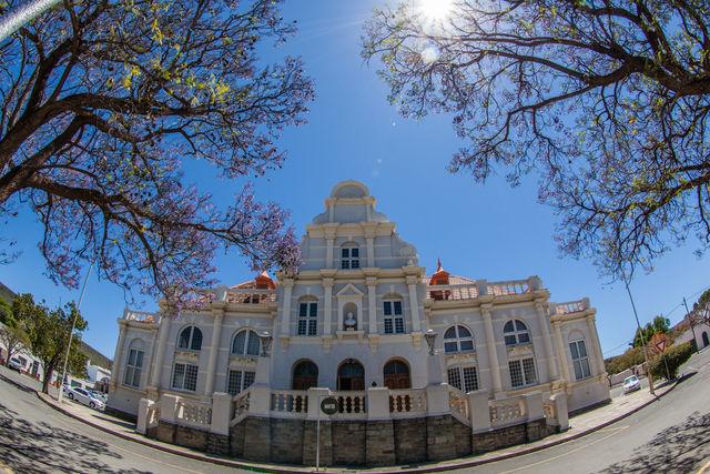 Rondreis Zuid-Afrika Graaff-Reinet stadhuis