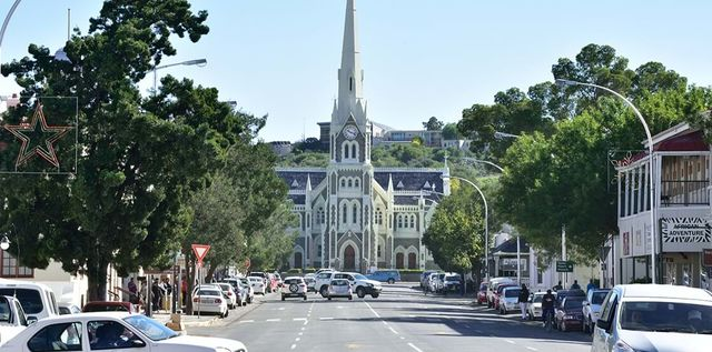 Rondreis Zuid-Afrika Graaff-Reinet kerk