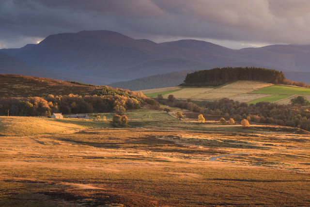 Boerderij Cairngorms National Park Schotland