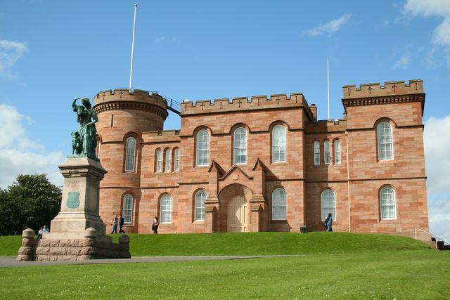 Inverness Castle Inverness Schotland