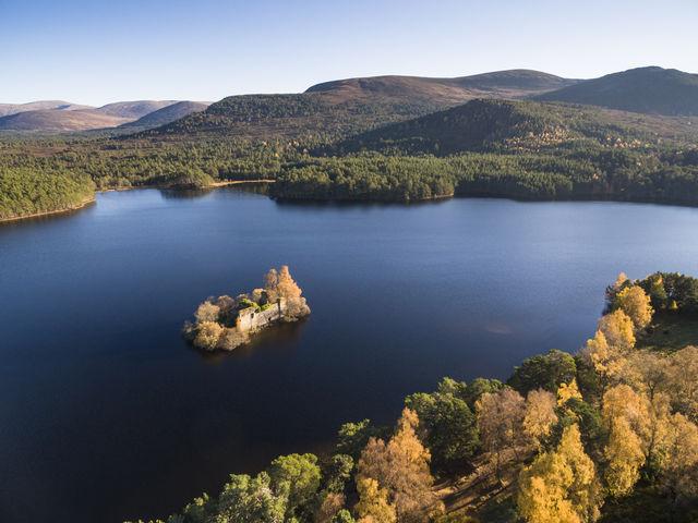 Loch Eileen Schotland