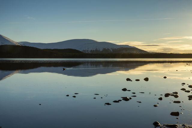 Loch Morlich Schotland