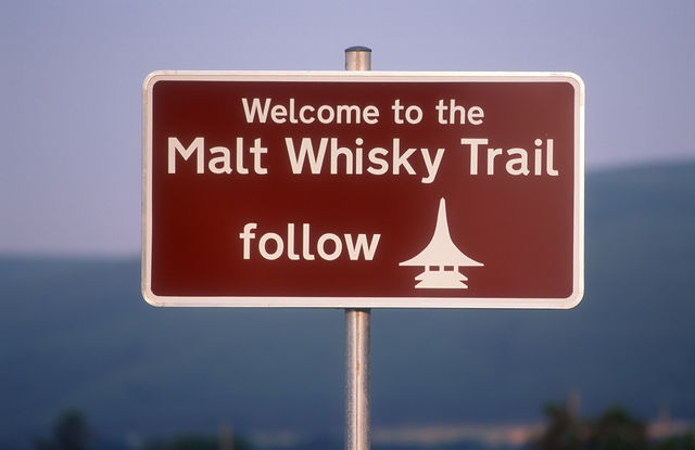Malt Whisky Trail Grantown-on-Spey Schotland