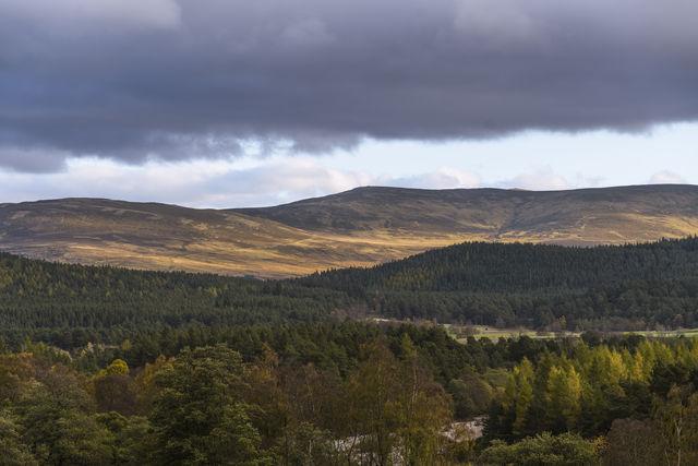 Cairngorms National Park Schotland