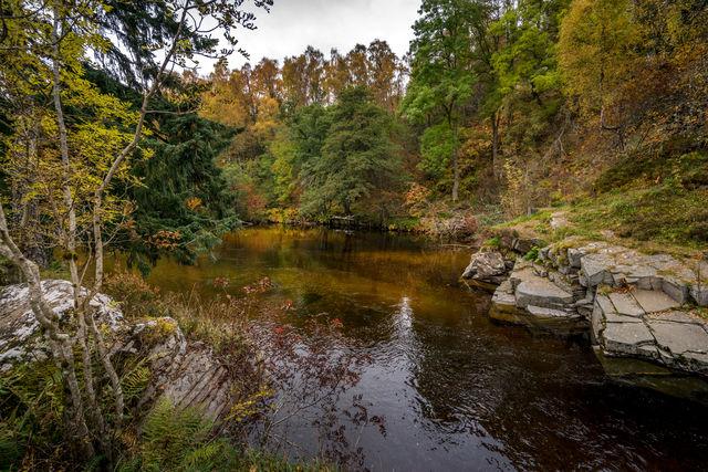 Rivier Spey Grantown-on-Spey Schotland