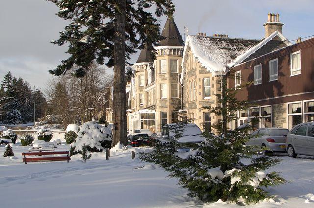 Winter Grantown on Spey Schotland