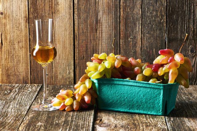 Italië Druiven Grappa