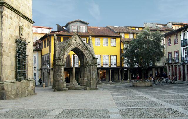 Guimaraes Largo da Oliveira Portugal