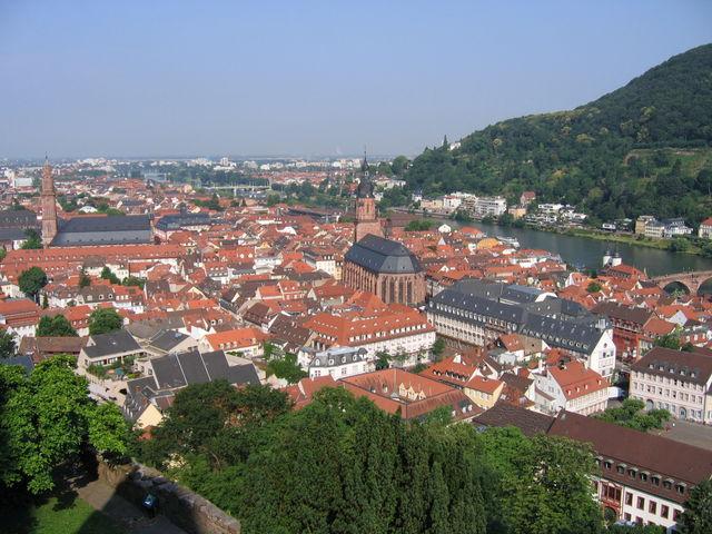 Kasteel Heidelberg Duitsland
