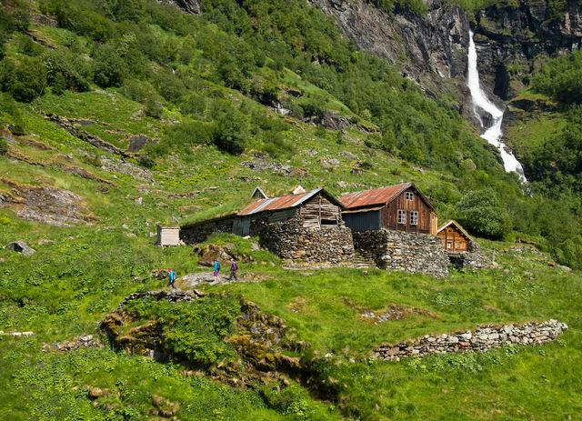Aurlandsdalen Flåm Vestland Noorwegen