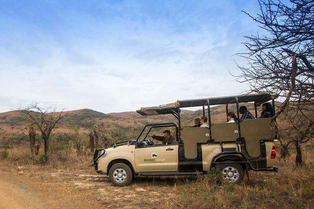 rondreis zuid-afrika safari Hluhluwe Game Reserve