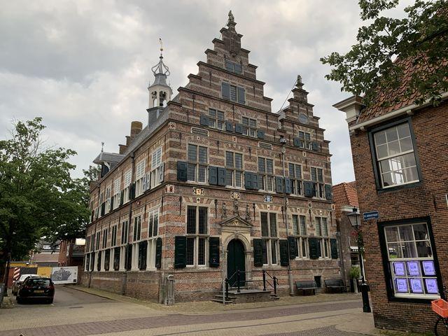 Gebouw Naarden, Noord-Holland, Nederland
