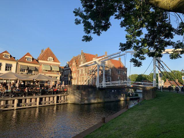 Haven, Enkhuizen, Noord-Holland, Nederland