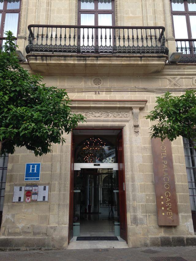 Palacio de Garvey Jerez de la Frontera ingang