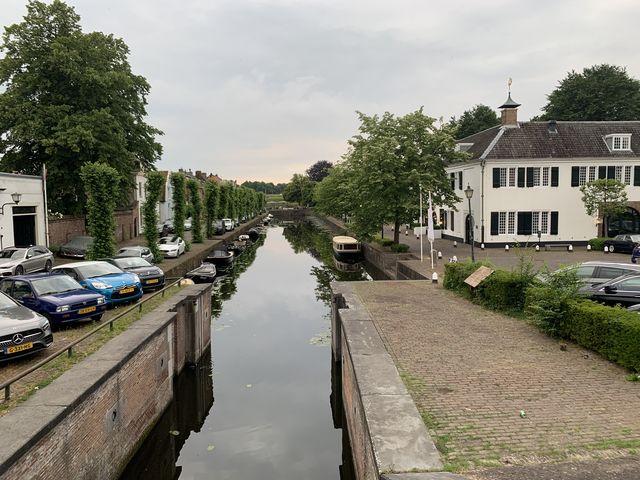 Gracht Naarden, Noord-Holland, Nederland