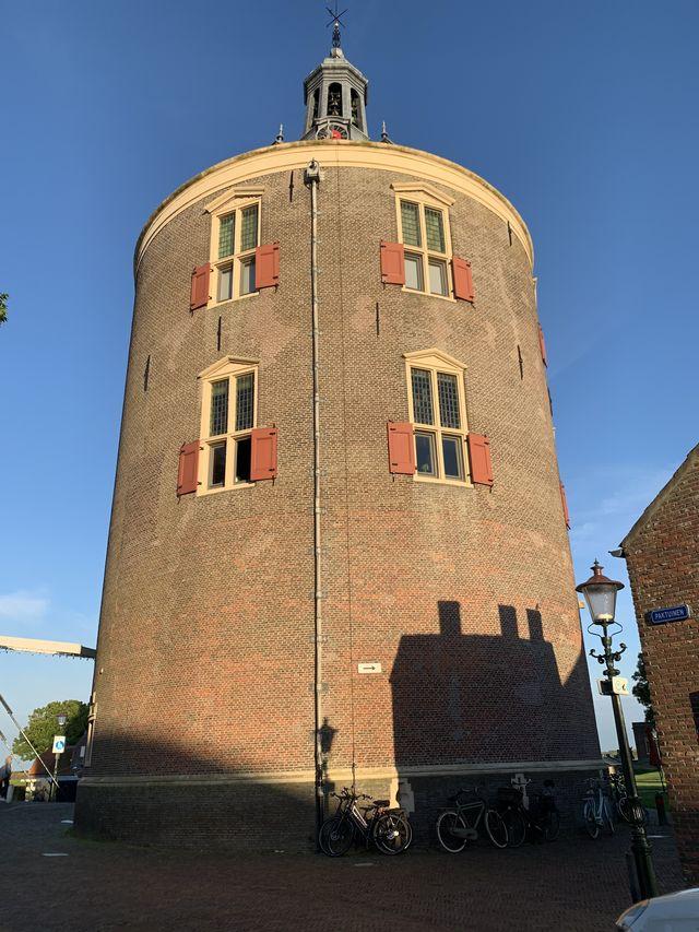 Stadspoort, Enkhuizen, Noord-Holland, Nederland