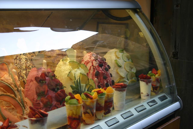 Italië Toscane Florence fruit ijs