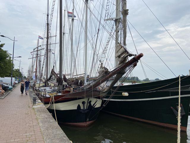Haven Kampen, Overijssel, Nederland