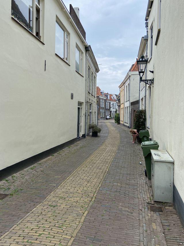 Straat Kampen, Overijssel, Nederland