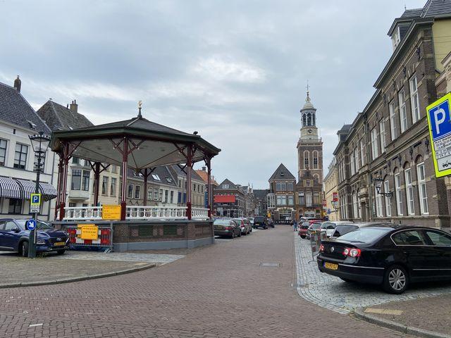 Centrum Kampen, Overijssel, Nederland