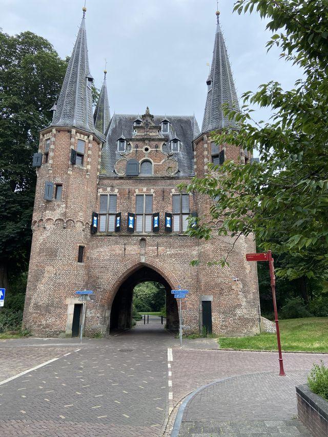Stadspoort Kampen, Overijssel, Nederland