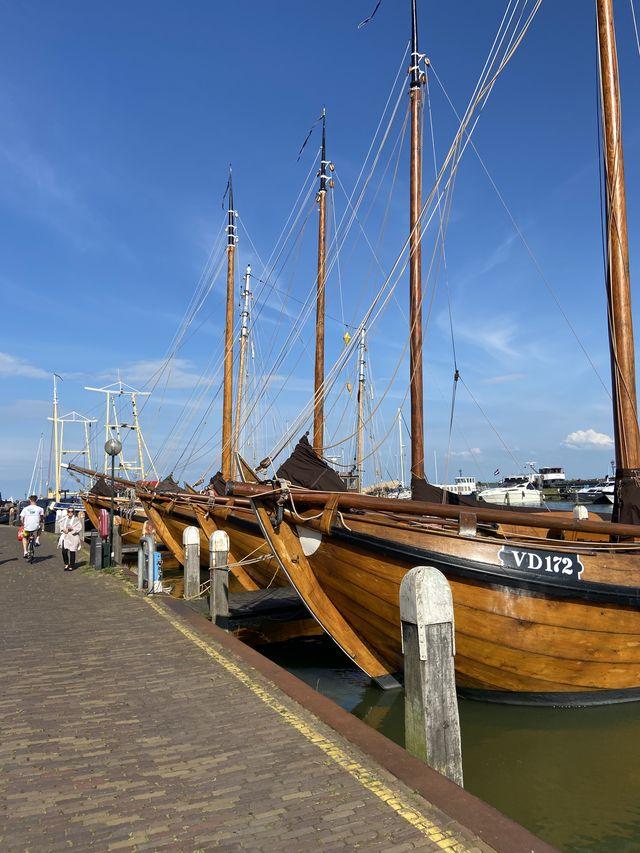 Boten Volendam, Noord-Holland, Nederland