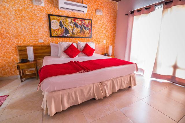 Rondreis Colombia Bolivar Cartagena 3 Banderas kamer met 2-persoonsbed