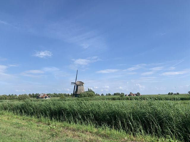Molen Volendam, Noord-Holland, Nederland