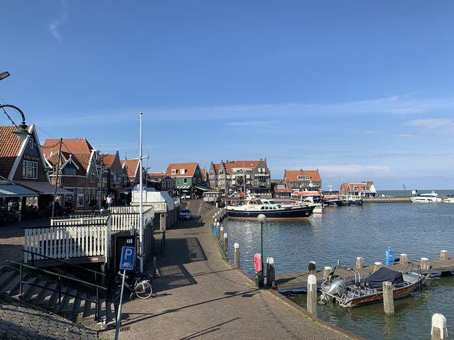 Kade Volendam, Noord-Holland, Nederland