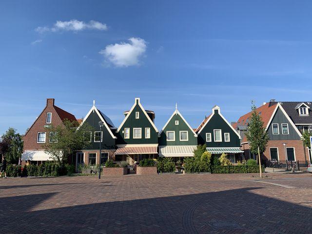 Plein Volendam, Noord-Holland, Nederland