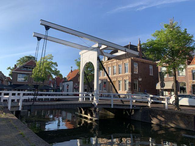 Brug Hoorn, Noord-Holland, Nederland